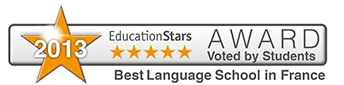 2013-EducationStars-Award-Best-Language-School-in-France