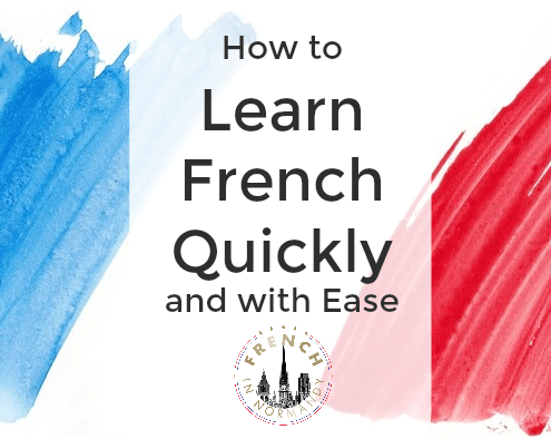 learn french quickly