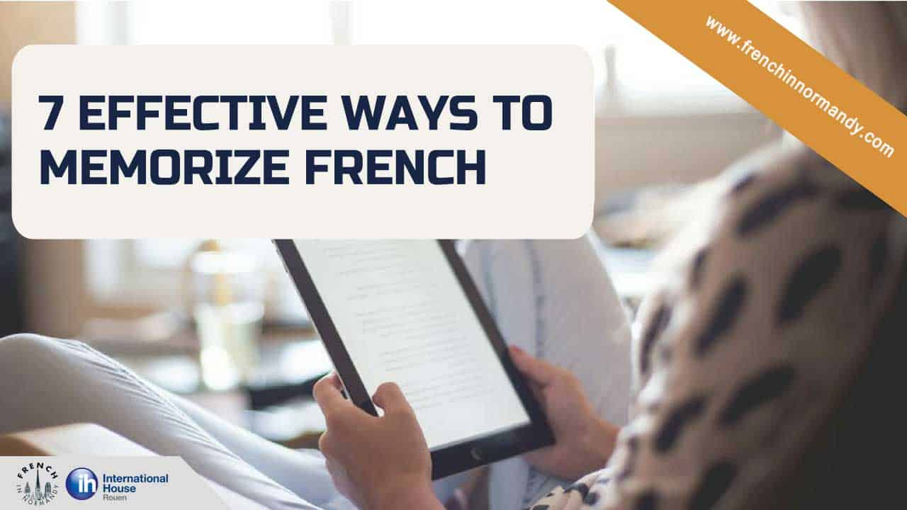 Memorize French Vocabulary